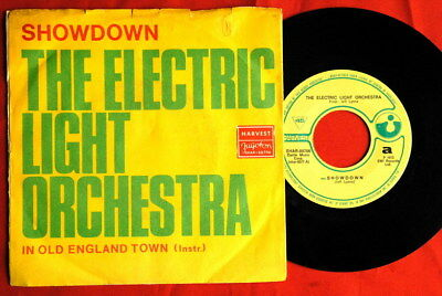 "ELECTRIC LIGHT ORCHESTRA ELO 1973 UNIQUE RARE EXYU 7""PS"