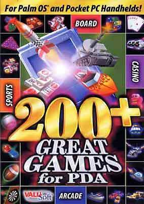200+ Great Games - PDA Palm Pocket PC - (New)