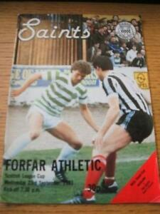 23091981 St Mirren v Forfar Athletic Scottish League - <span itemprop=availableAtOrFrom>Birmingham, United Kingdom</span> - Returns accepted within 30 days after the item is delivered, if goods not as described. Buyer assumes responibilty for return proof of postage and costs. Most purchases from business s - Birmingham, United Kingdom