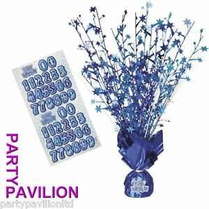Blue-18th-Birthday-Party-Table-Decorations-Centre-Piece-Balloon-Weights