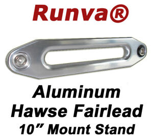 New-Runva-Aluminum-Hawse-Fairlead-For-Synthetic-Rope-Winch-10-Mounting-Pattern
