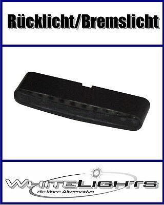 LED Mini Micro Rücklicht Heckleuchte Stripe schwarz smoked zum kleben Einbau