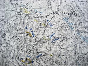 Battle-of-ABENSBERG-1809-Battle-Plan-War-of-the-Fifth-Coalition-JOHNSTON-1866