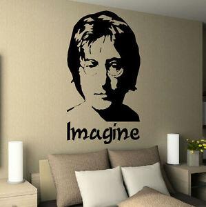 john lennon imagine bedroom music icon image wall art. Black Bedroom Furniture Sets. Home Design Ideas