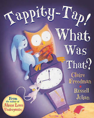 Tappity-Tap! What Was That?-ExLibrary