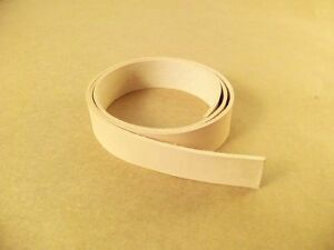6-7-oz-Veg-Tanned-Natural-Leather-Strips-Belt-Blanks-56-034-62-034-Various-Widths