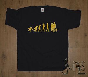 Evolution Gassi Gehen Hund Hundetrainer Lustige Hunde T Shirt