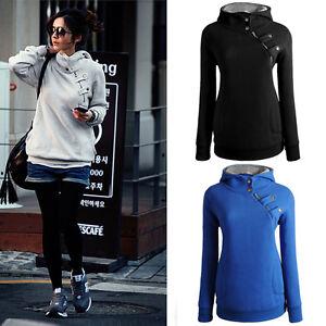Damen-Pullover-Kapuze-Hood-Hoodie-langen-Armel-Herbst-Sweatshirt-Top-Jacke-36-44