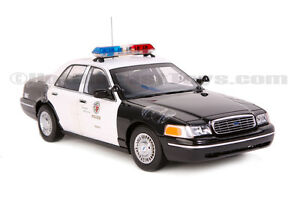 autoart ford crown victoria los angeles police department. Black Bedroom Furniture Sets. Home Design Ideas