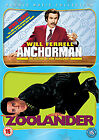 Anchorman / Zoolander (DVD, 2011, 2-Disc Set)