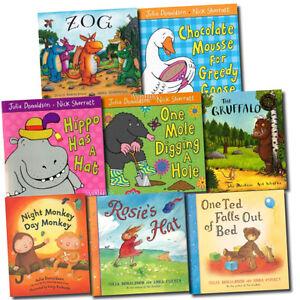 Julia-Donaldson-Gruffalo-Collection-8-Books-Set-pack-series-Inc-Zog
