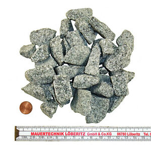 25 kg granit splitt zierkies grau zen garten 16 22 mm. Black Bedroom Furniture Sets. Home Design Ideas