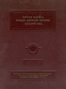 WRIGHT-R-3350-18BA-CYCLONE-EARLY-CONSTELLATIONS-amp-B-29-SERVICE-MANUAL-1944
