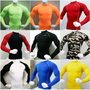 New-Mens-Compression-Under-Base-Layer-Top-Tight-Long-Sleeve-T-Shirts-Collection2