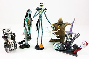 New-The-Nightmare-Before-Christmas-Jack-Sally-6-PCS-Trading-Figure-Set-Series-1