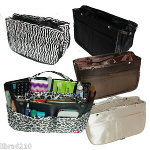 INSERT-IN-Handbag-Purse-ORGANIZER-STORAGE-Tote-for-Large-XL-Bag-NEW-693