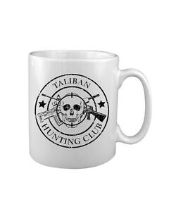 Military-Taliban-Hunting-Club-MUG-UK-Printed-US-Marines-SAS-Army-USMC