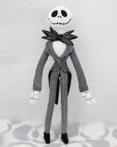 """12.5"""" The Nightmare Before Christmas Jack Skellington Figure Plush Doll"""