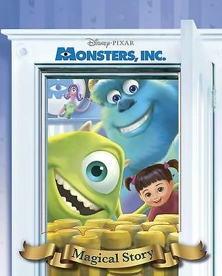 """""""AS NEW"""" Disney.Pixar Monsters, Inc. Magical Story with Lenticular Cover (Disney"""