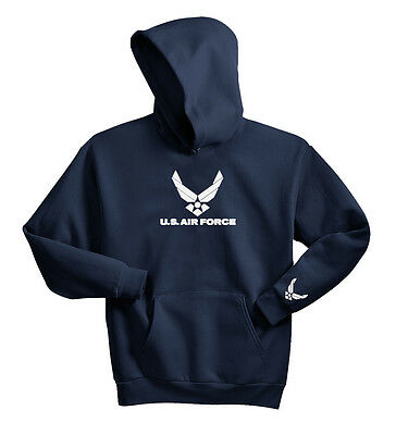 U.S. AIR FORCE HOODIE SWEAT SHIRT PULLOVER JUMPER USAF MILITARY