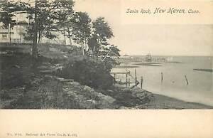 NEW-HAVEN-CONNECTICUT-SAVIN-ROCK-PRE-1907-POSTCARD-SCENE