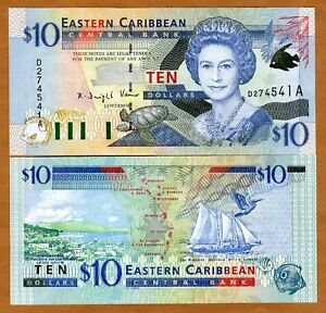 Eastern-East-Caribbean-10-2000-Antigua-P-38a-UNC