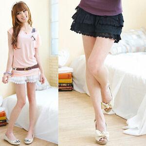 Women-Safety-Lace-Shorts-Trousers-Leggings-Pants