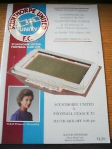 14081988 Scunthorpe United v Football League Opening Of Glanford Park  No o - <span itemprop=availableAtOrFrom>Birmingham, United Kingdom</span> - Returns accepted within 30 days after the item is delivered, if goods not as described. Buyer assumes responibilty for return proof of postage and costs. Most purchases from business s - Birmingham, United Kingdom