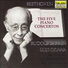 Beethoven: The Five Piano Concertos (CD, Nov-1984, 3 Discs, Telarc Distribution)