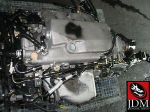 83 87 mazda b2000 b2200 fe inline 4 fuel injected engine jdm fe ebay. Black Bedroom Furniture Sets. Home Design Ideas