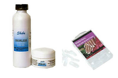 Sheba Nails Dual System Forms Odorless Acrylic Kit