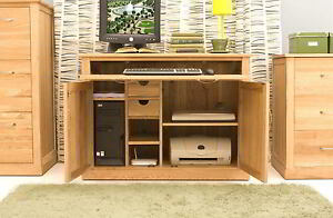hideaway home office. interesting office image is loading conransolidoakmodernfurniturehiddenhomeoffice in hideaway home office