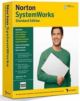 Aufrichtig Software Symantec Norton Systemworks 10.0 2007 Standard Edition TÜv Geprüft Neu Dauerhaft Im Einsatz