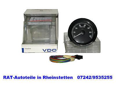 Drehzahlmesser  Elektro - VDO  -  NEU - 80mm - 0-7000min