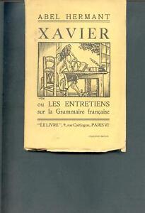 Xavier-Abel-Hermant-Paris-le-Livre-1923-bon-etat