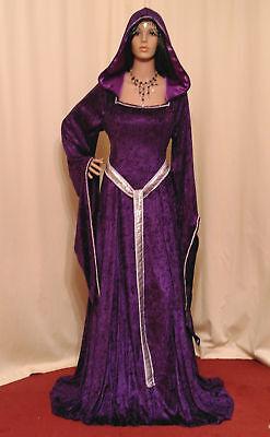 Medieval Renaissance dress pagan handfasting ELVEN