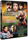 Curse Of The Golden Flower/Fearless/Crouching Tiger Hidden Dragon (DVD, 2008, 3-Disc Set, Box Set)