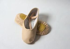 Leather-Ballet-Shoes-All-sizes-women-039-s