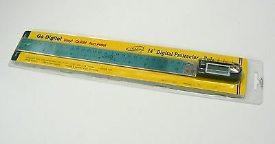 "iGaging 14"" Digital Protractor Goniometer Miter Gauge Electronic Angle Finder"