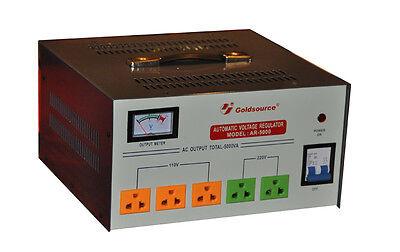 5000 Watt Voltage Converter Transformer Step Up /Down   GOLDSOURCE AR-5000