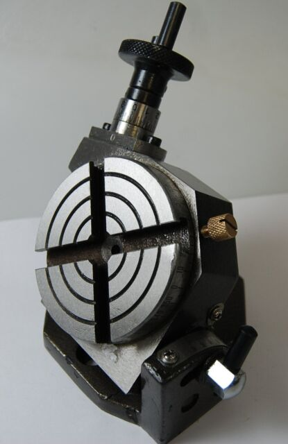 """New 3"""" Precision Tilting Rotary Table For Milling Machine From Chronos"""