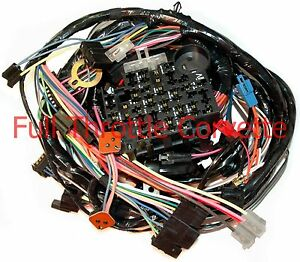 1979 corvette dash wiring harness with power windows | ebay early 1979 corvette wiring harness 1979 corvette wiring diagram #5