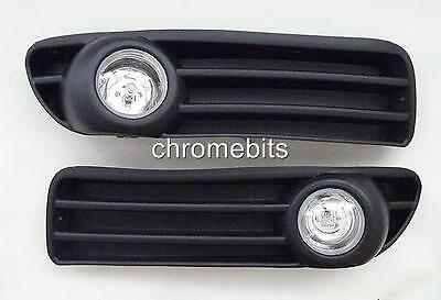 FOG LIGHTS LAMPS GRILLE SET for AUDI A4 B5, 1994-1998