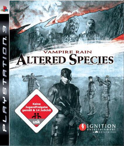 Vampire Rain: Altered Species (Sony PlayStation 3, 2008)