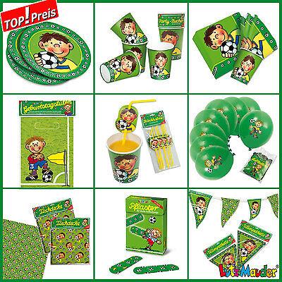 *Fussball - Fritz Flanke* Alles zum Kindergeburtstag von LUTZ MAUDER - Partyset
