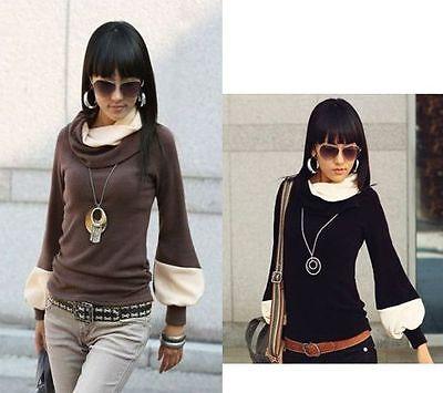 Damen Bluse Boho Japan Style 2-Farbig 36 38 40 42 md01