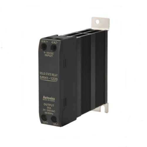 SSR Solid State Relay with Heatsink DIN rail 4-30VDC Input 20A 24-240VAC load