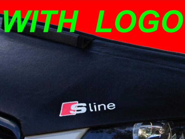 Audi A4 B5 94 - 01 BONNET BRA STONEGUARD S LINE LOGO EMBLEM BADGE