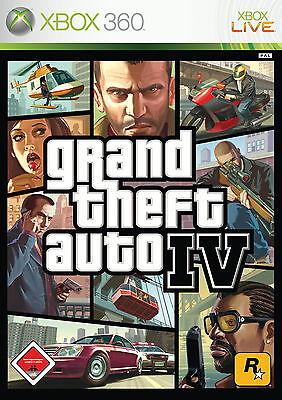 Grand Theft Auto IV (Microsoft Xbox 360, 2008, DVD-Box)