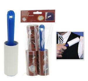 Lint-Roller-Rolls-3-Pack-Hair-Pet-Fluff-Remover